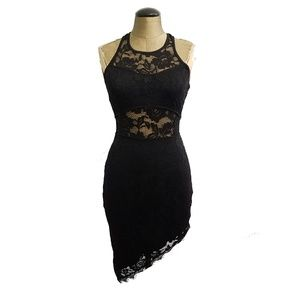 Dresses & Skirts - -NEW- Chic BLACK lace Bodycon sexy dress S M L